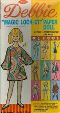 Vntg 1960s Debbie Locket Paper Doll Rare Uncut Hd Lasr Reproduction No.1 Selr Lo