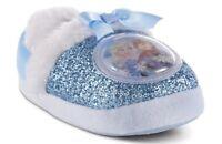Disney FROZEN Slippers Girls 5/6 NeW Elsa and Anna Slip-on Glitter House Shoes