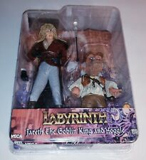 LABYRINTH Jareth the Goblin King & Hoggle NECA Action Figures New Cult Classics