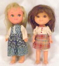 2 Fran Dolls 1978 Blonde Brunette Mar Ktc Hong Kong H4 Vintage
