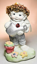 Dreamsicles Love In Bloom - Dc184 - Cherub with Flower Pot and Watering Can