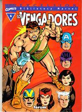 BIBLIOTECA MARVEL :    LOS VENGADORES     Nº   6      FORUM.
