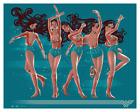 WONDER WOMAN Variant Giclee Print by George Caltsoudas Bottleneck Art #/40 NEW!