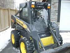 "1/2""  LX665 New Holland Extreme Lexan Door plus Sides!!! skid steer loader glass"