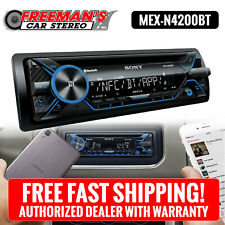 Sony MEX-N4200BT Single CD Player Car Dash Audio Stereo Receiver Radio Bluetooth