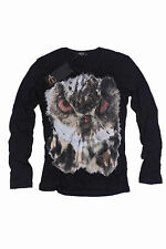 Brand New  Black  Roberto Cavalli  Women'S T-Shirt   Sz. 50(XL)