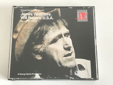 James Whitmore Will Rogers' U.S.A. 2-CD Set Sony Broadway Enhanced 33 Tracks