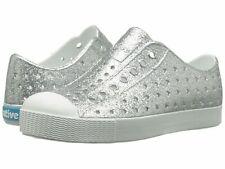 Jefferson Native Shoes Silver Bling Size C4