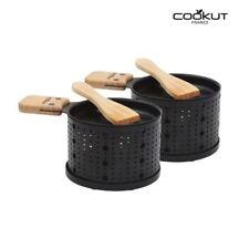 Cookut Lumi raclette individuel FROMAGE brûleurs chauffages avec spatules