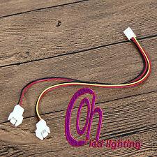 12 V 3Pin a 2/3 PIN Donna MASCHIO PC Fan Splitter Cavo 23 cm di lunghezza