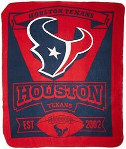 Houston Texans NFL Northwest Fleece Throw