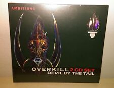 2 CD OVERKILL - DEVIL BY THE TAIL - NUOVO NEW