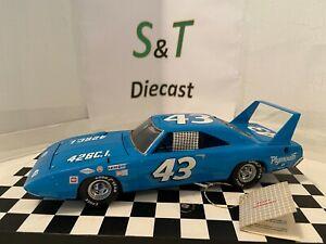 Richard Petty 1970 #43 Plymouth Roadrunner Superbird Franklin Mint 1/24th