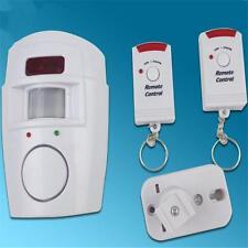 IR Infrared Motion Sensor Detector Alarm Remote Home Security System Wireless I3