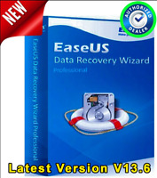 EaseUS Data Recovery Wizard V13.6 Full Version License Key - AUTHORIZED DEALER -