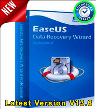 EaseUS Data Recovery Wizard V13.6 Full Version License Key - AUTHORIZED DEALER -