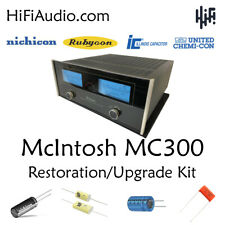 McIntosh MC300 amp amplifier rebuild restoration recap service kit fix repair