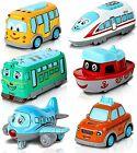 ArtCreativity Metal Cartoon Car Set - Set of 6 Mini Pullback Toy Cars -...