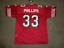 NWT LAWRENCE PHILLIPS #33 SF SAN FRANCISCO 49ER'S NINERS STARTER NFL GAME JERSEY