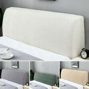 Headboard Cover Stretch Bed-Head Change Dustproof Bedding Bedspread Slipcover US