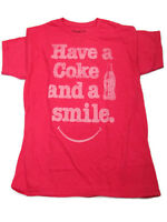 Coca-Cola Have a Coke and a Smile Tee T-shirt 2X-Large 2XL- FREE SHIPPING