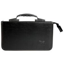 Handle Design 200 Disc CD DVD Holder Case Practical Box Storage Bag Black New