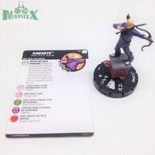 Heroclix Avengers Defenders War set Hawkeye #067 Chase figure w/card!