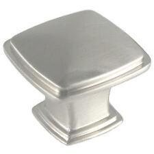 Cosmas Cabinet Hardware Satin Nickel Square Cabinet Knobs #4391SN