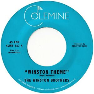 The Winston Brothers - Winston Theme (Black Vinyl) CLMN187