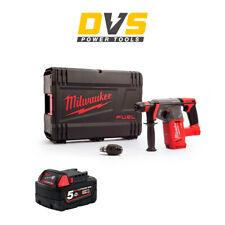 Milwaukee M18CHX-0 M18 Fuel SDS+ Hammer Drill 1 x 5Ah M18B5 Battery ,Case