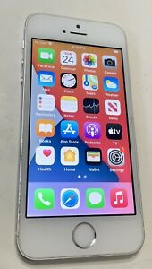 Apple iPhone SE - 16GB - Silver (Unlocked) A1662 (CDMA + GSM) Used