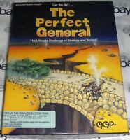 "100% COMPLETE Commodore Amiga THE PERFECT GENERAL 1991 Big Box Game 3.5"" QQP map"