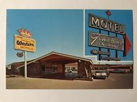 Winslow Arizona Route 66 Postcard MOTEL TOWN HOUSE Highway 66 Roadside c1960s