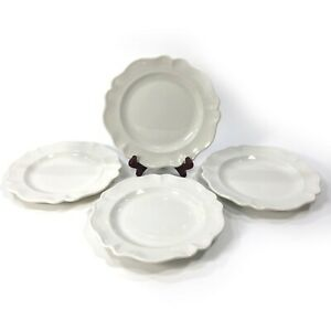 """Set of 4 VTG Red Cliff HEIRLOOM Ironstone 8-3/4"""" Salad Plate *Multiples Avail*"""
