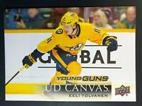 2018-19 Eeli Tolvanen Young Guns Canvas Rookie