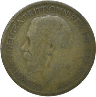 1919 HALF PENNY OF GEORGE V.     #WT15611