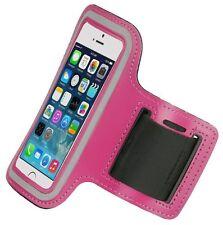 Étuis, housses et coques brassards roses en néoprène pour téléphone mobile et assistant personnel (PDA)
