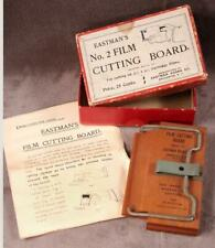 Vintage Eastman's No. 2 Film Cutting Board w/ Orig. Box & Instructions 1899