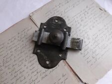 French antique hardware  iron latch lock slide bolt solid