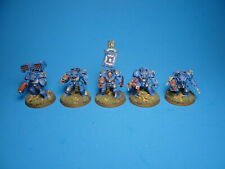 GW Warhammer 40K Space Marine Terminator Squad Painted Plastic e30