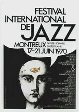 Original vintage poster JAZZ FESTIVAL AARHUS DENMARK FLUTE 2003