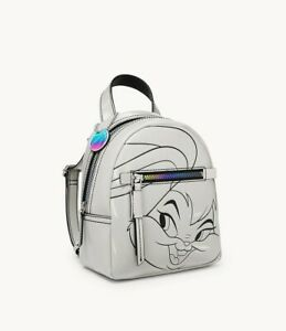 Authentic New Space Jam by Fossil Lola Bunny Small Backpack