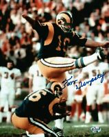 Tom Dempsey Signed 8X10 Photo Autograph Rams Home Kicking Auto w/COA