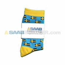 SWEDISH FLAG SOCKS ASAABForever Swedish Flag Dress Socks SAAB VOLVO NOW IN STOCK