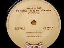 Teddy Bears-a conoscerlo è PER AMARLO/JODY Reynolds-SONNO SENZA FINE