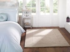 SALE Tuscany Siena Natural Light Beige  Wool Rug in various sizes and runner