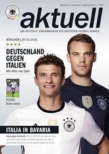 Länderspiel 29.03.2016 Deutschland - Italien in München