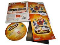 NINTENDO Wii  POWER RANGERS SAMURAI - VERSION PAL - PEGI 12 BANDAI JEUX