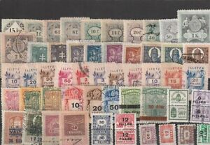 HUNGARY REVENUE LOT  DIFFERENT STAMPS  (6)