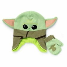 Toddler Star Wars ~ The Mandalorian ~ The Child Baby Yoda Hat & Mittens Set NEW!